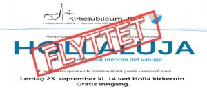 Hollaluja - FLYTTET
